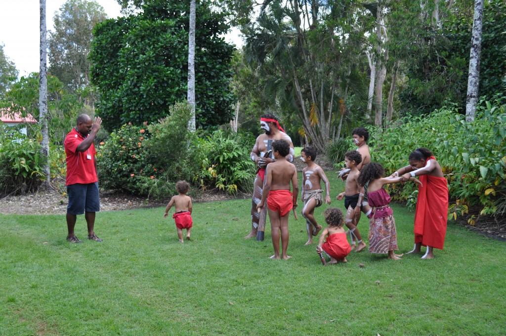Nathan Schreiber's family performing. Ngirrma Puwal Pukang, 2014.